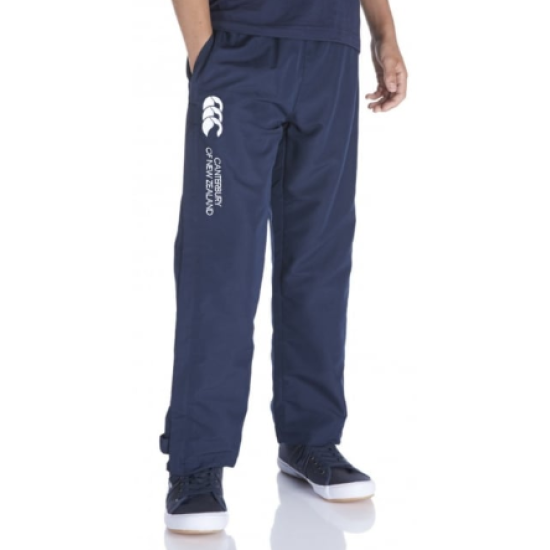 Kids Canterbury Open Hem Navy Stadium Pants