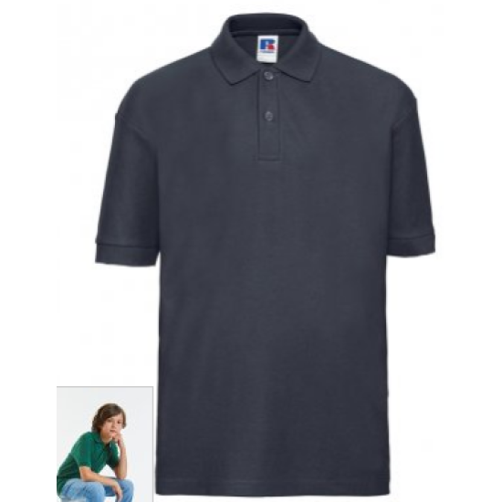 Kids Papdale Navy Polo