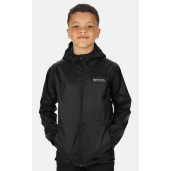 Kids Regatta Pack It Jkt III Black