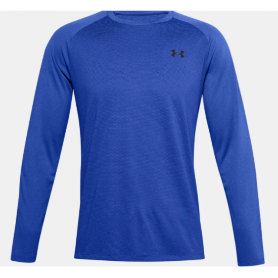 Men's UA Textured Long Sleeve Blue