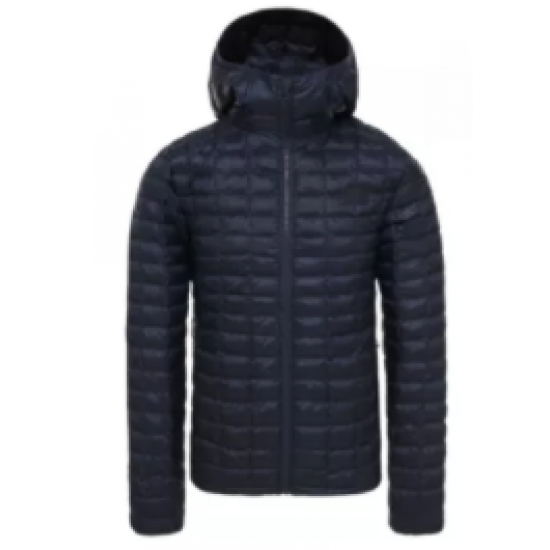 Mens NF Thermball Eco Hoodie Navy