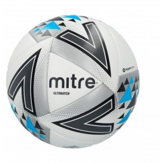 Mitre Ultimatch White/Silver/Blue