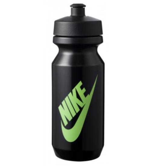 Nike Big Mouth Graphic Bottle 2.0 22oz Black/Black/Ghost Green 00.0043
