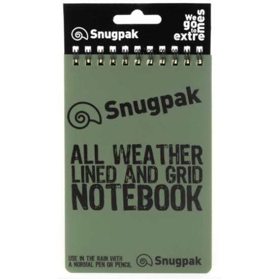 Snugpak Water Resistant NoteBook Olive